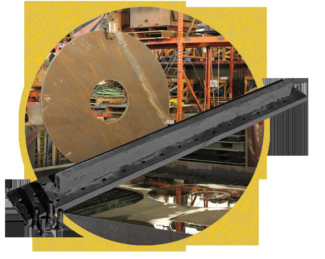 Custom Steel Parts Railroad, Scrapyard, Mining