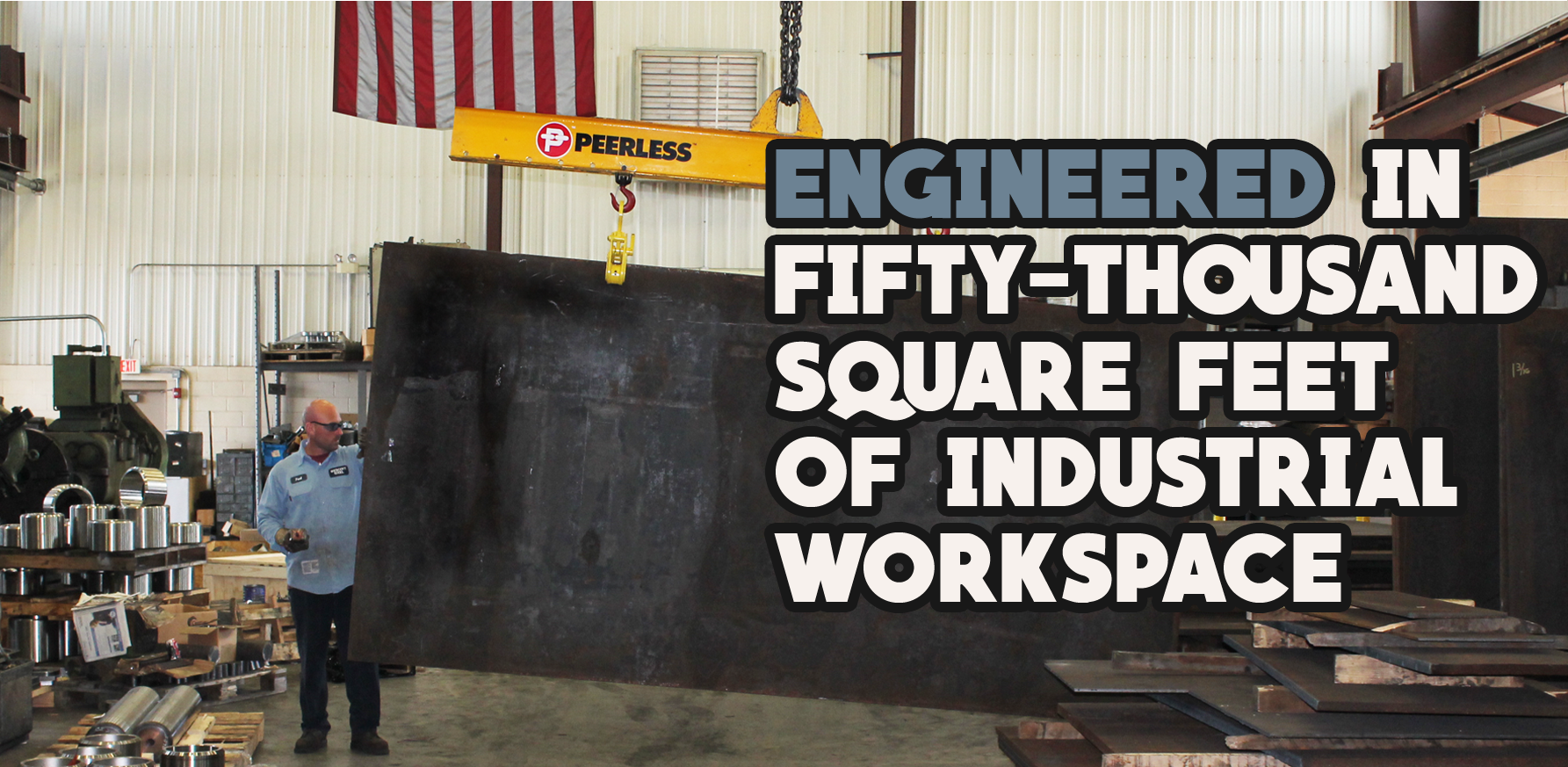 Wescott Steel Industrial Workspace