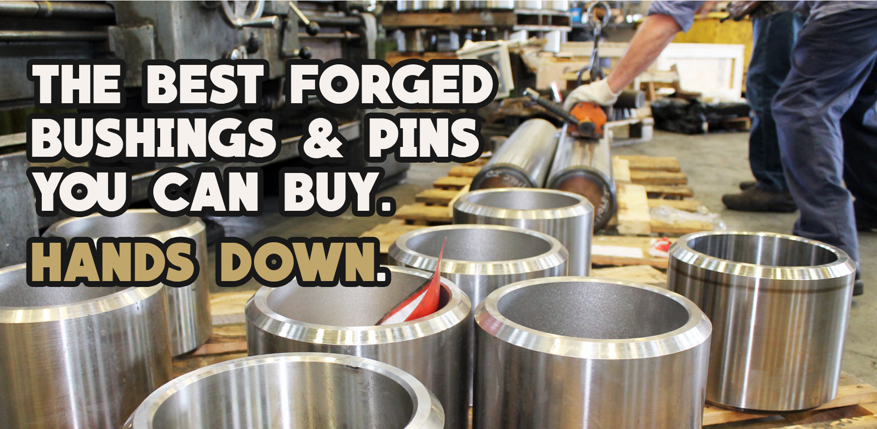 Best Forged Bushings and Pins from Wescott Steel